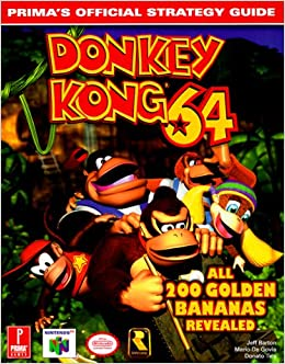 Donkey kong 64: prima's official strategy guide by mario de govia.
