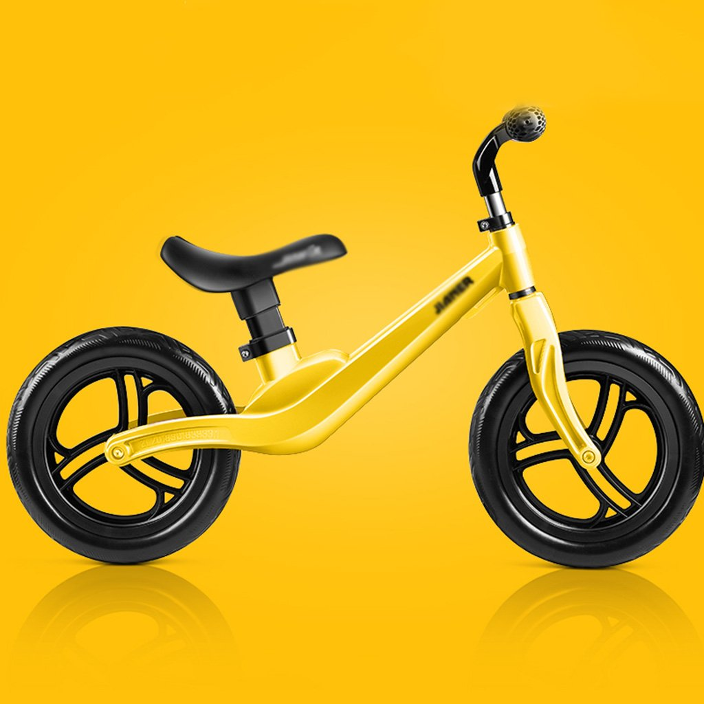 【2019正規激安】 子供のスクータースライディングカーウォーカーベビーノーペダル自転車子供のおもちゃダブルホイール2-6歳 B07FZ7TLWT Yellow Yellow Yellow B07FZ7TLWT Yellow, ちょっと印刷.com:dd499378 --- a0267596.xsph.ru