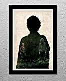 The Walking Dead - Carol Peletier - Melissa McBride - Zombies - Original Minimalist Art Poster Print