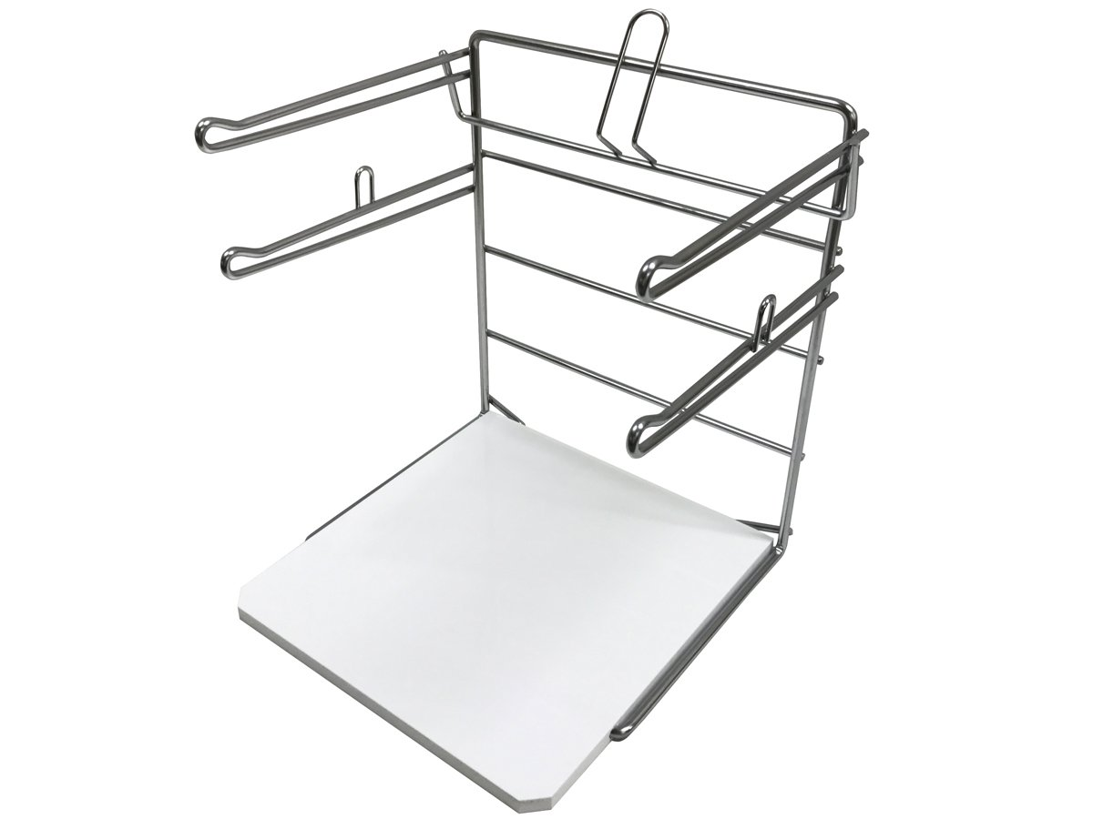 Counter Top T-Shirt Bag Rack/Retail Plastic Bag Dispenser & Holder - Bag Stand with Base - 2 Pack by Store Fixtures Direct (Image #4)