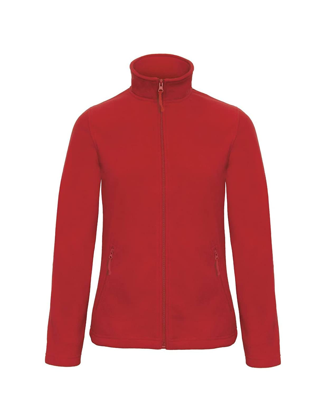 B&C Collection Women's Full Zip Microfleece - 10 Colours Available