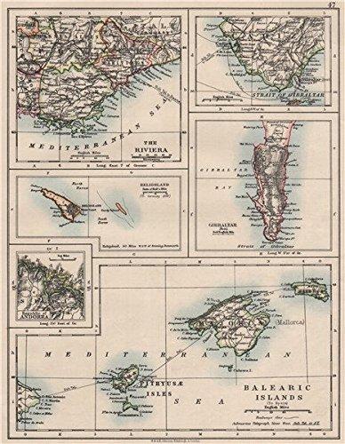 Amazon Com Europe Balearic Islands Heligoland Gibraltar Andorra