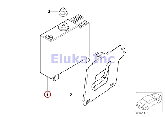 Amazon Com Bmw Genuine Radio Control Unit