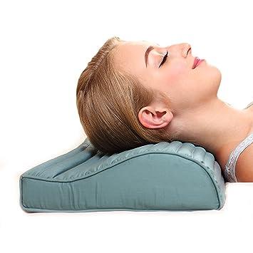 Amazon Com Chiropractic Cooling Neck Pillow Greenmoon Orthopedic