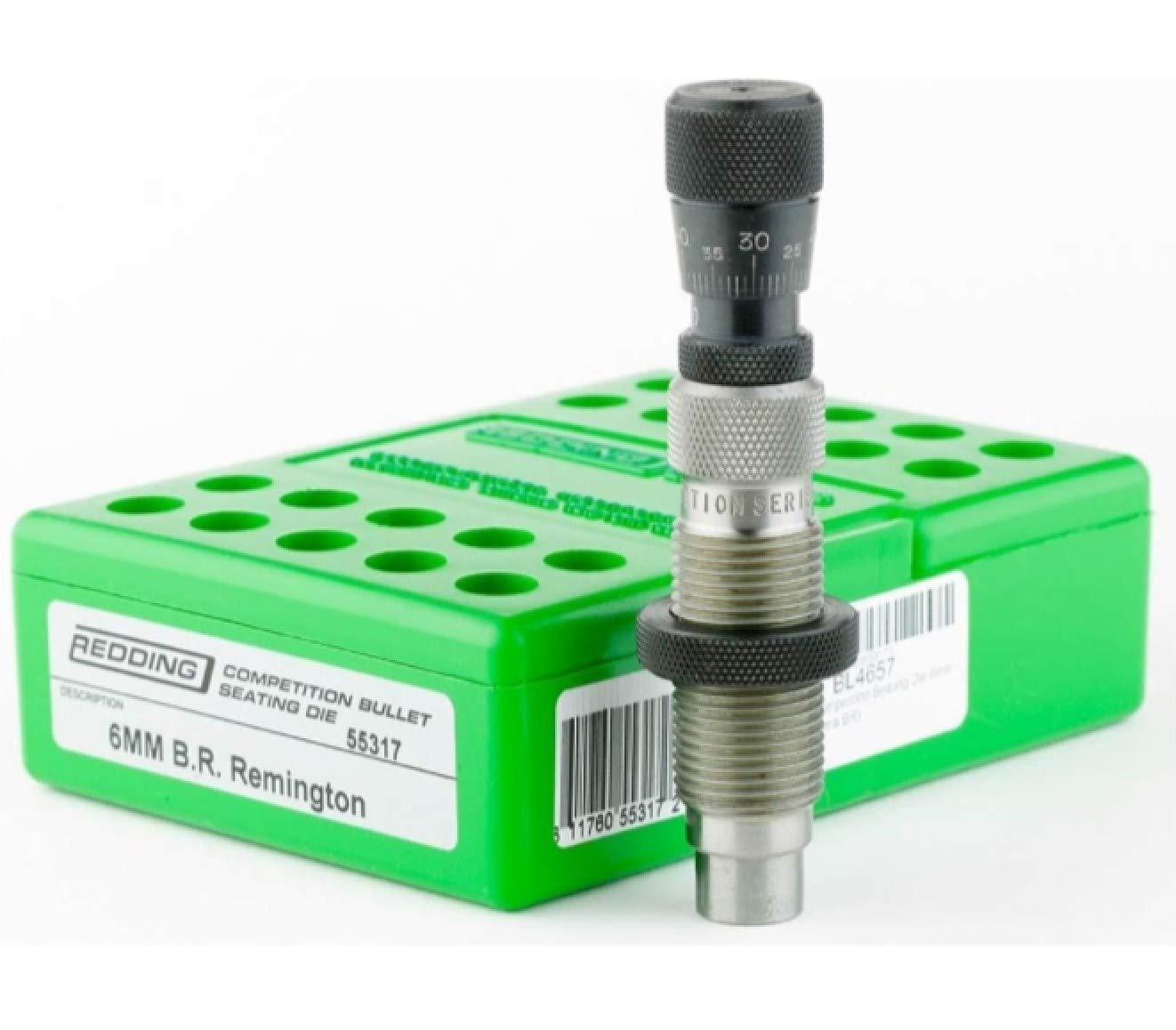 Redding Reloading Master Hunter Die Set with a Competition Seating Die .308 Winchester 55155