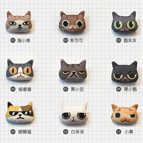 Pet peripheral products subsidiary - meow bags with clothes and other decorative brooch on theten clothes