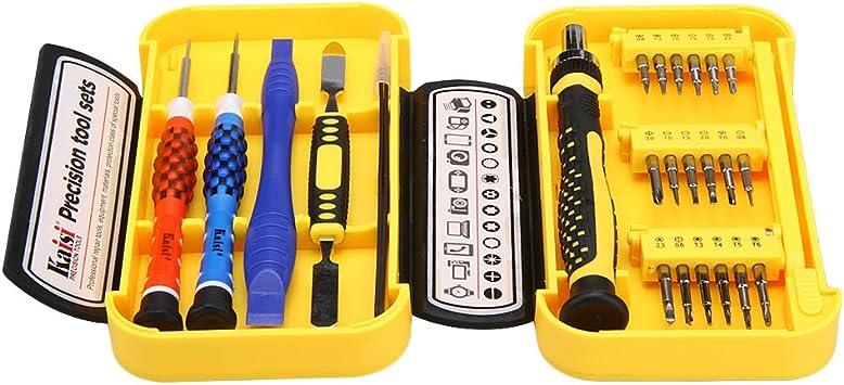 Kaisi® 24-en-1 Kit de Herramientas Reparación Precisa Portátil ...