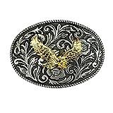 Cimostar Golden Eagle Western Style Cowboy Belt Buckle