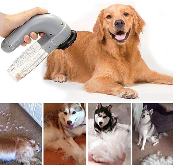 XXDYF Limpiador de Pelo para Mascotas, Quitapelusas Eléctrico Lint ...