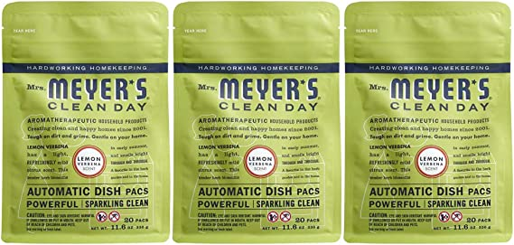 Mrs. Meyer's Clean Day Automatic Dish Packs