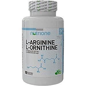 Solgar L-Ornitina Cápsulas vegetales de 500 mg - Envase de ...