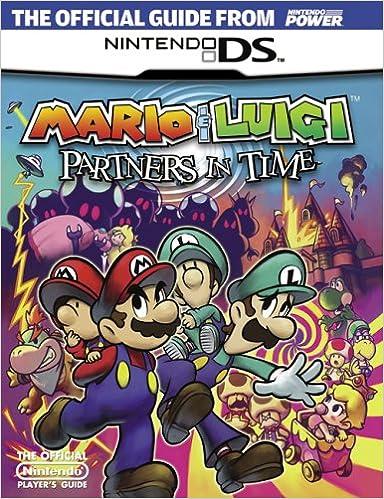 Book Official Nintendo Mario & Luigi: Partners In Time Player's Guide