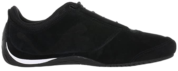 2a6bcb710a2124 Puma Drift Cat 4 Suede Low Top Unisex-Adult Black Schwarz (black silver 05)  Size  10  Amazon.co.uk  Shoes   Bags