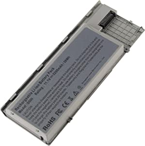 AC Doctor INC 5200mAh Laptop Battery Replacement for Dell Latitude D620 D630 D630c D631 Series