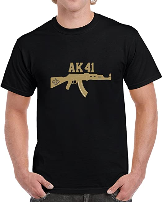 buy online 43f1f 86cdb Alvin Kamara New Orleans Ak41 Running Back Football T Shirt ...