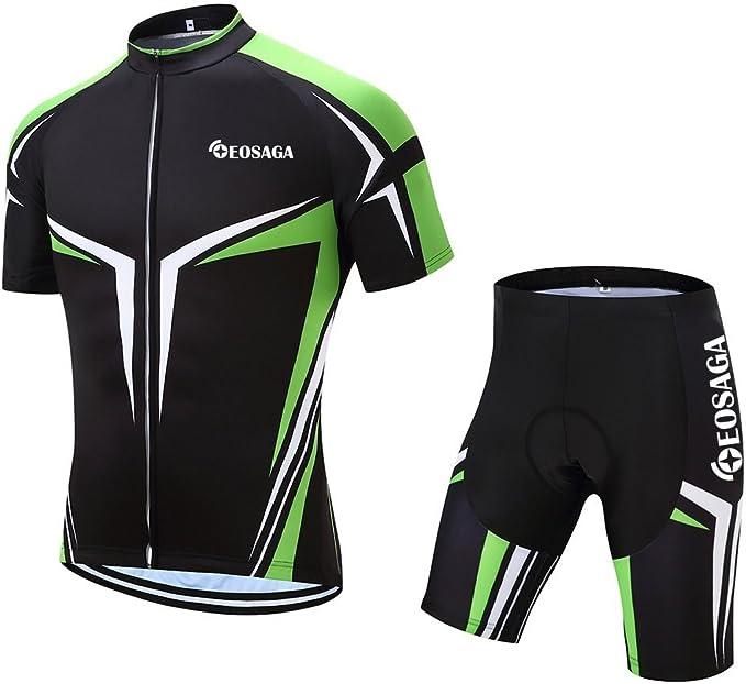 Amazon.com: EOSAGA - Maillot de ciclismo para hombre (manga ...