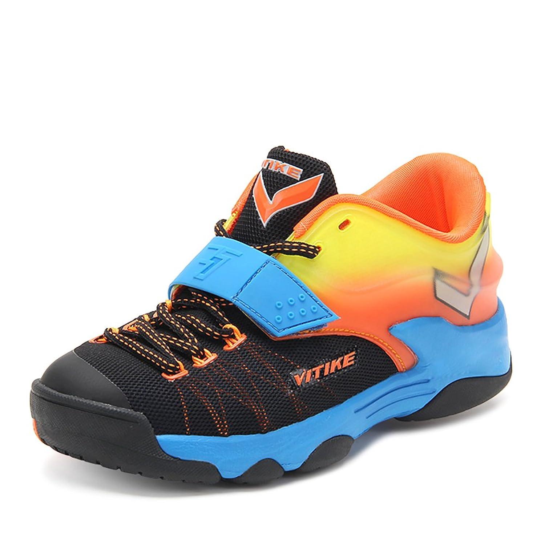 ASHION Niños Deportes Zapatos Chicos Malla Respirable Estudiante Baloncesto Zapatos Chico Antideslizante