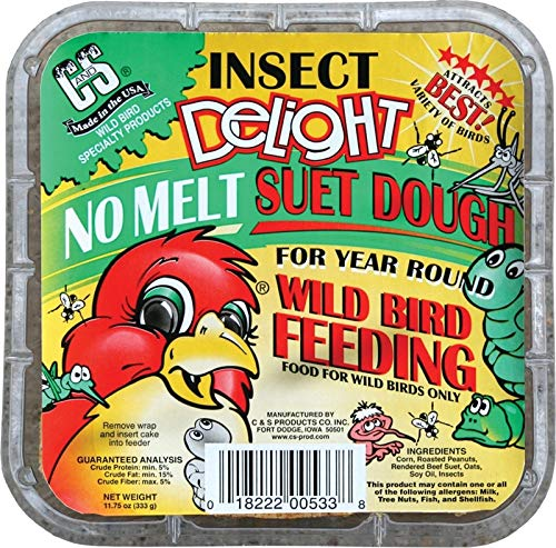 C&S Insect Delight No-Melt Suet Dough
