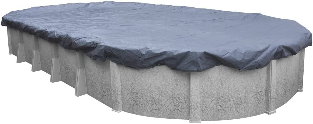 Robelle 461625 Robelle 461625 Value-Line Above Ground Swimming Pool Cover for 16-Foot by 25-Foot Oval Pool