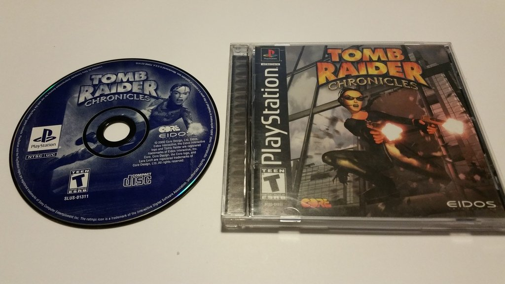 Amazon Com Tomb Raider Chronicles Unknown Video Games
