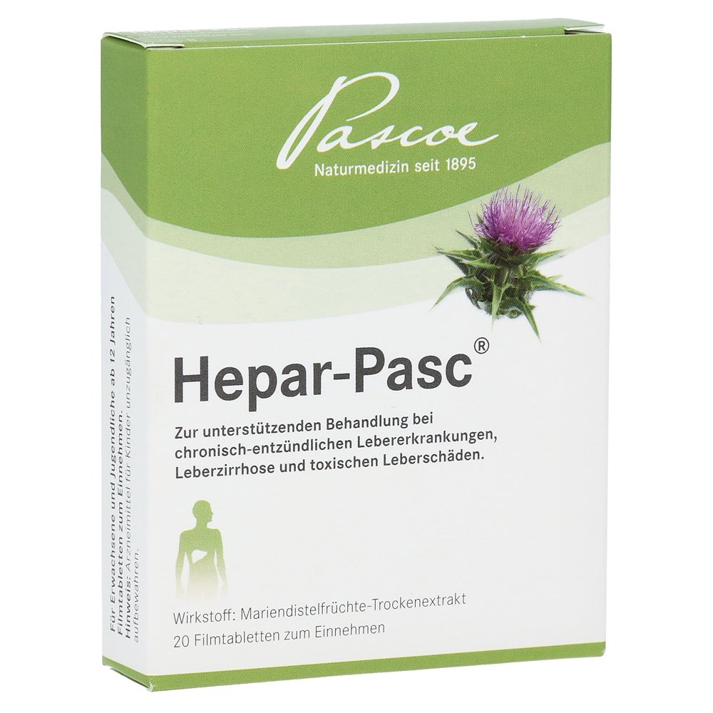 Hepar Pasc Film-Coated Tablets Pack of 20: Amazon.co.uk: Kitchen & Home