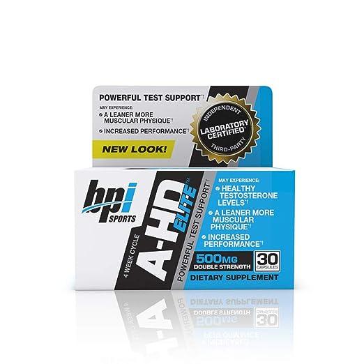 Amazon com: BPI Sports A-HD Elite – Men's Powerful Testosterone