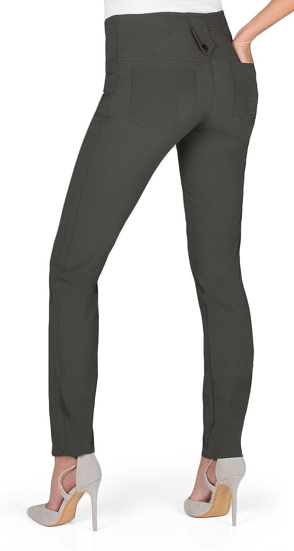 Anatomie\'s Skyler Skinny Travel Pant with Back Pockets: Amazon.co.uk ...