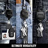 ELV Self Retractable ID Badge Holder Key
