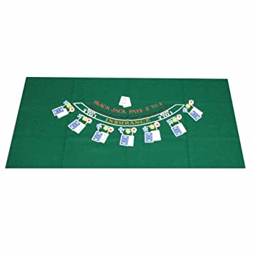 Trademark Poker Blackjack Layout, 36 X 72 Inch