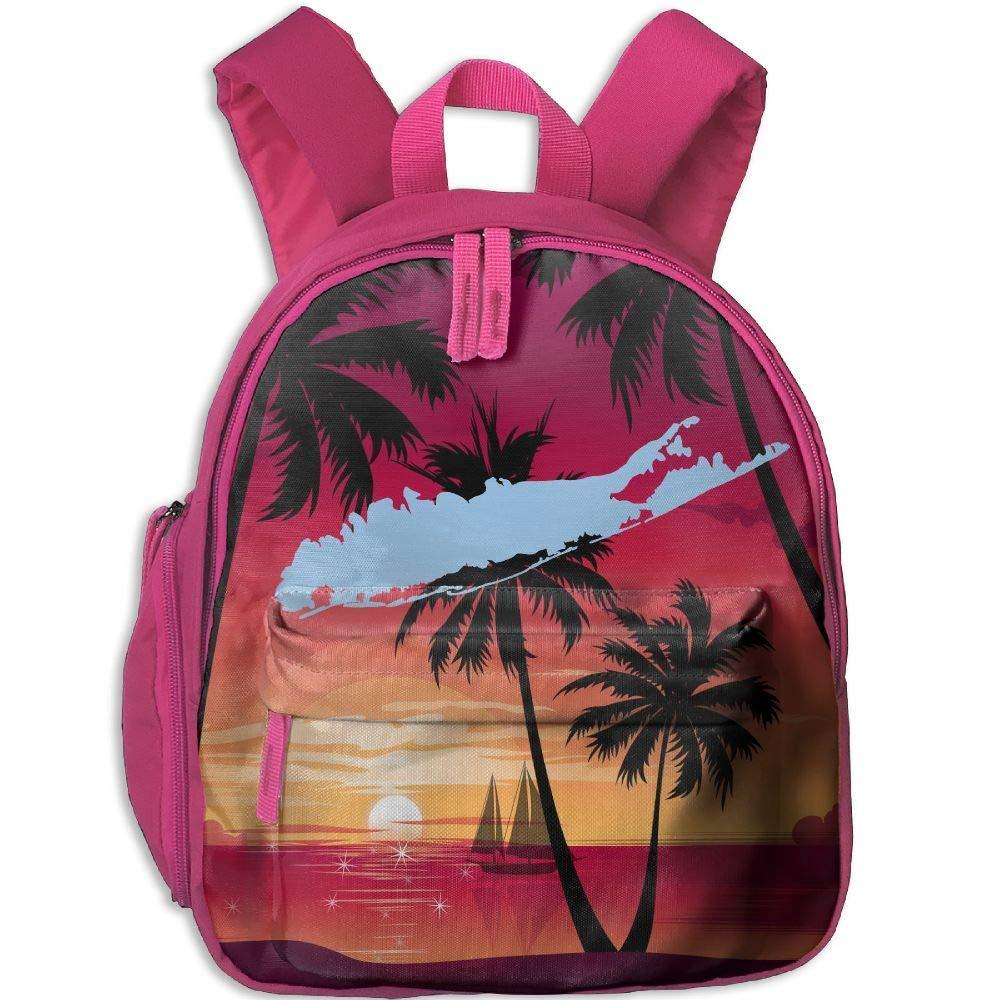 Long Long Long Island Toddler Mini Backpack Shoulder Schoolbag with Front Pockets B07LGS2GP7 Daypacks Neuer Markt 26ec3c
