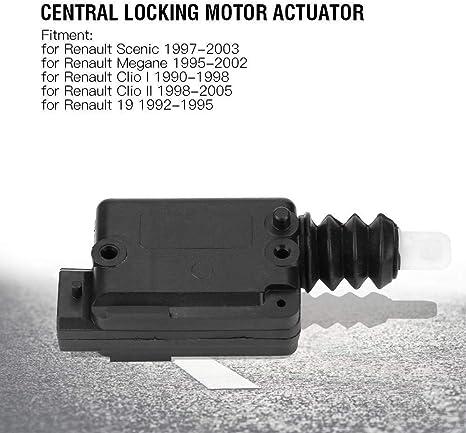 KSTE Cierre centralizado de cerraduras de Puertas Motor actuador 2 Pin for Renault Megane Scenic Clio 7702127213: Amazon.es: Coche y moto