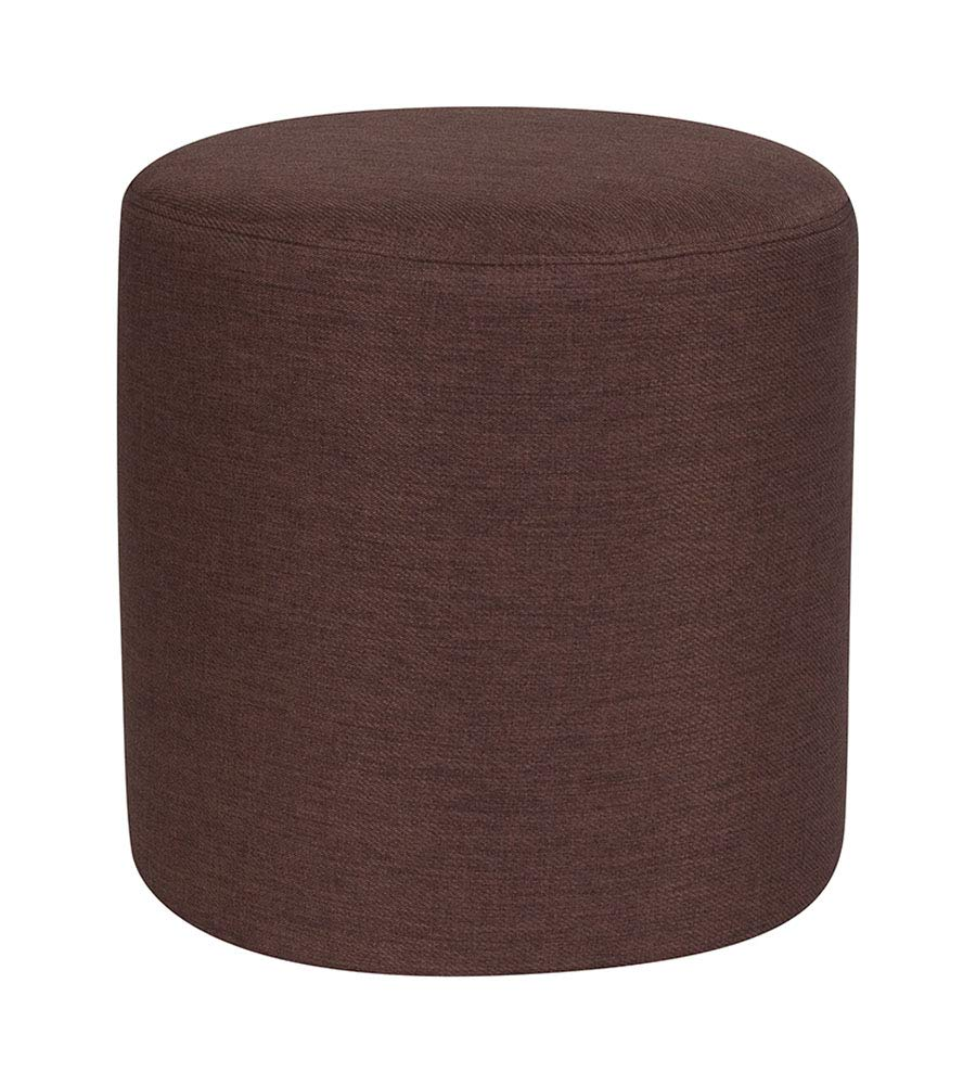 Amazon.com: Offex Barrington - Puf otomano redondo tapizado ...