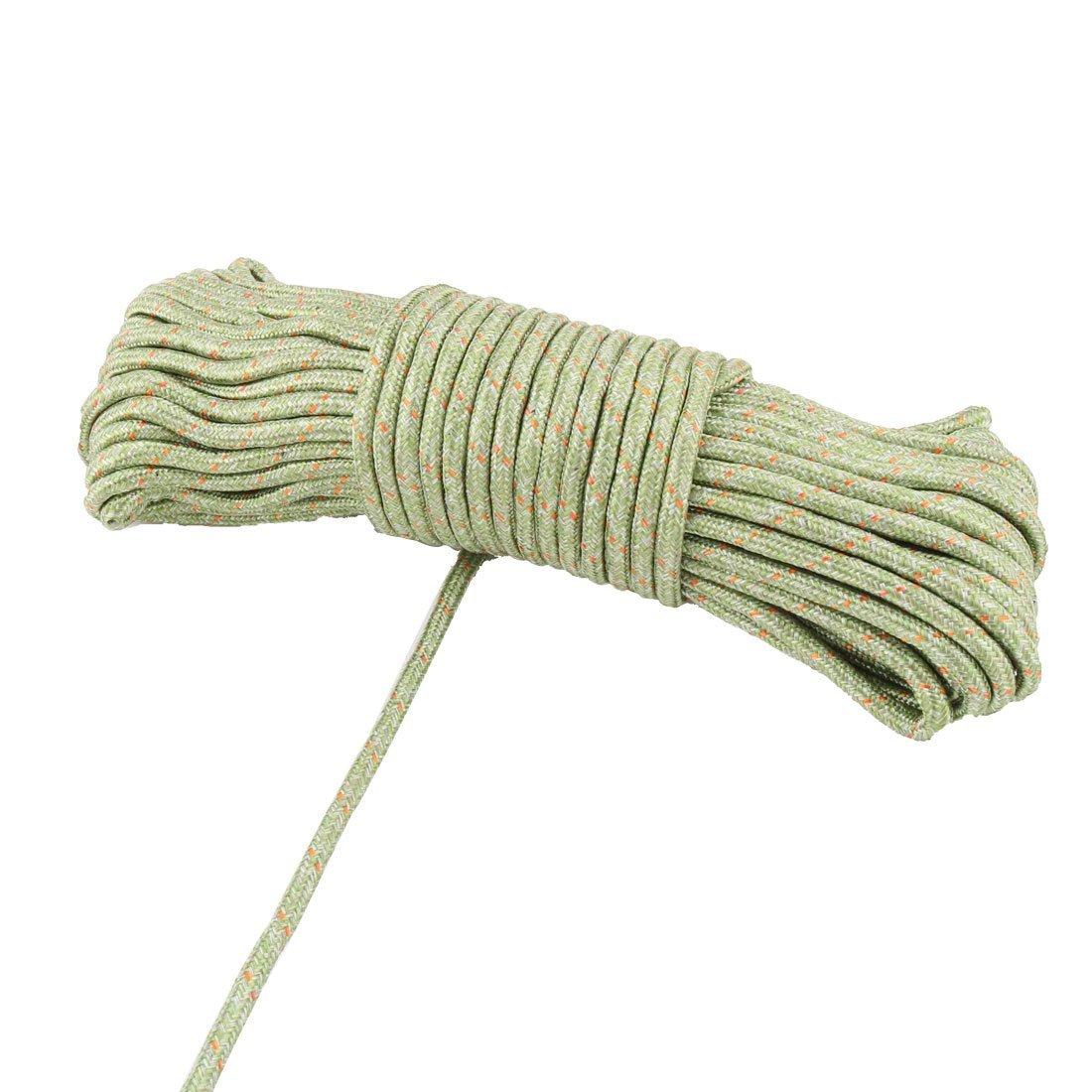 Amazon.com: eDealMax de Nylon antideslizante a prueba de Viento del hogar Colgando ropa Cadena cuerda Para Tender la ropa Línea de 28m Long Green: Home & ...