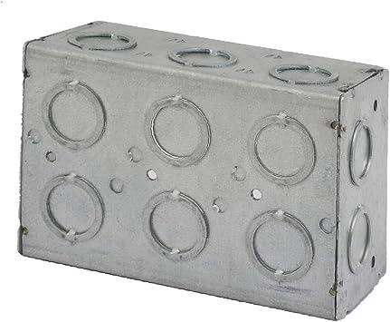 X-DREE 142mmx96mmx64mm Caja de caja de tomacorriente de empalme eléctrico de 3 pandillas gris (3e3dfd56554327ee5e3bc7a50a107990): Amazon.es: Bricolaje y herramientas
