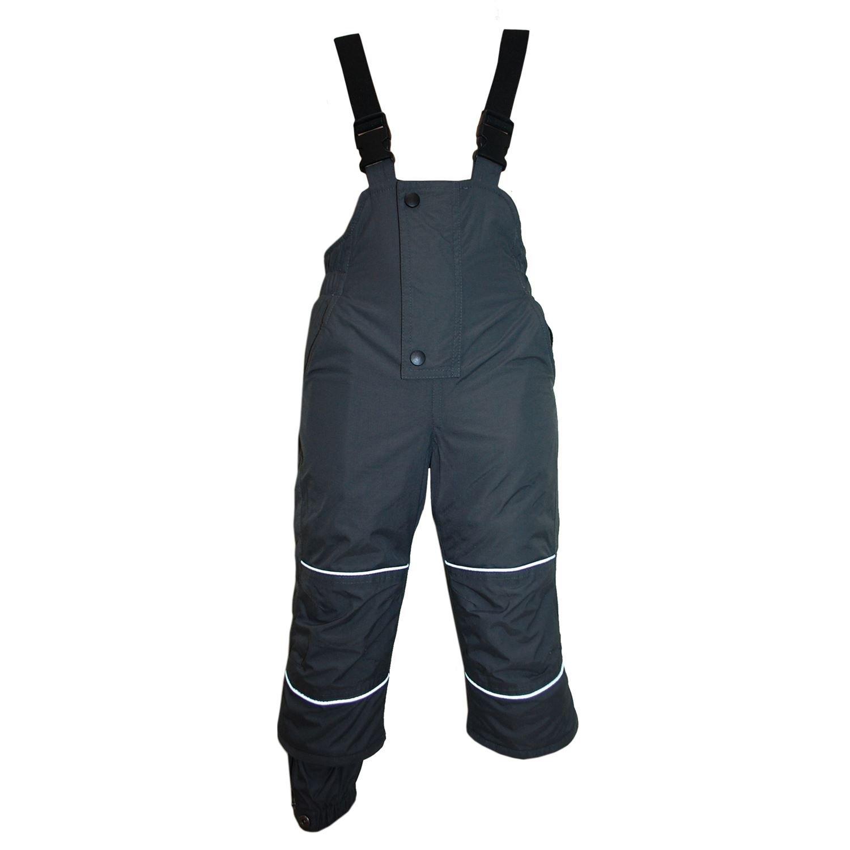 Outburst - Jungen Skihose Schneehose Wasserdicht 10.000 mm Wassersäule, Grau - 4860732