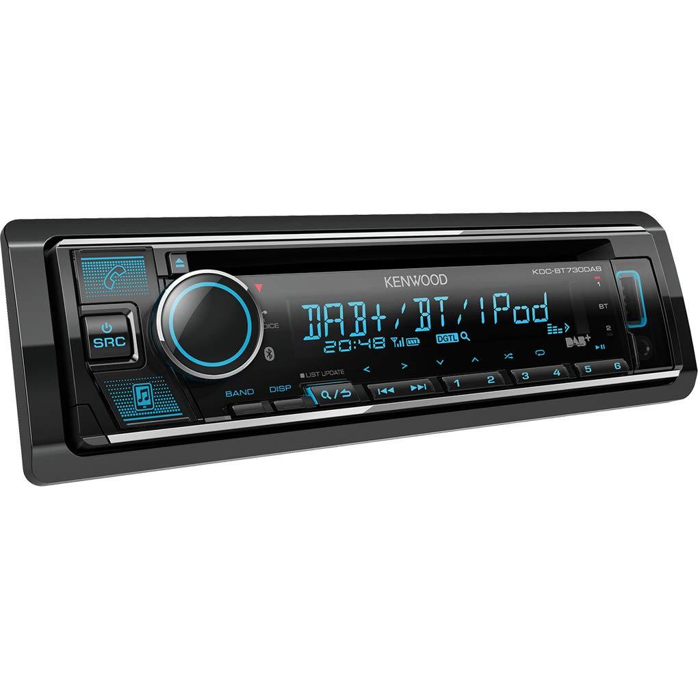 Kenwood KDC-BT730DAB CD-Receiver mit integriertem Bluetooth /& DAB Radio