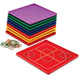 Classpack Geoboards, 7 Inches, Set of 10