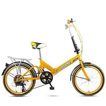 XQ 20 Pulgadas XQ Velocidad Variable Bicicleta Plegable De Amortiguación De Bicicletas Hombres Y Mujeres Estudiante