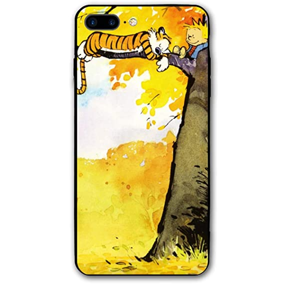 Amazon Com Fnh Iphone 7 8 Plus Calvin Hobbes Comics