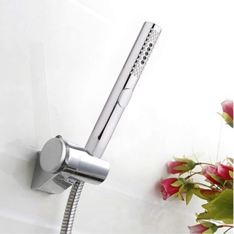 Alcachofa de ducha de mano con 3 funciones de agua BoRui acabado cromado