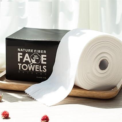 Limpieza de algodón Toallitas de algodón desechables, sin pelusa, grandes y suaves, para