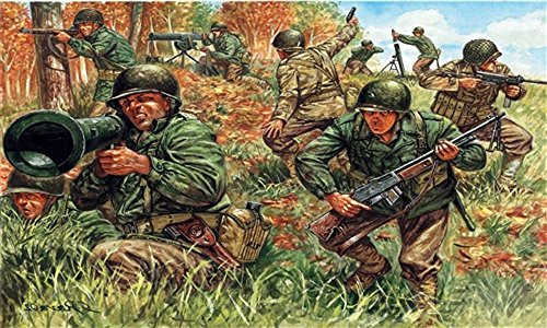 (Italeri 1:72 - WWII American Infantry)
