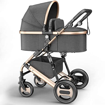 Cochecito de cochecito de bebé para niños de hasta 3 años Silla de ...