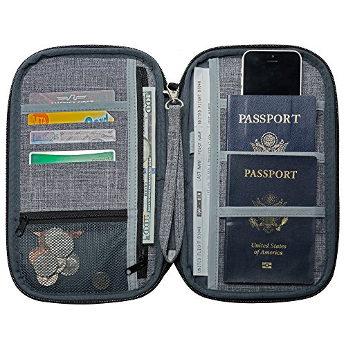 NeatPack RFID Travel Wallet