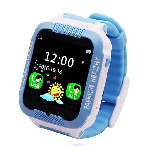 Kids Smart Watch Teléfono, GPS Reloj de pulsera inteligente ...