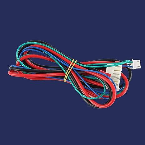 Turspit Anet A6 A8 - Cable Hotbed con termistor para Impresora 3D ...