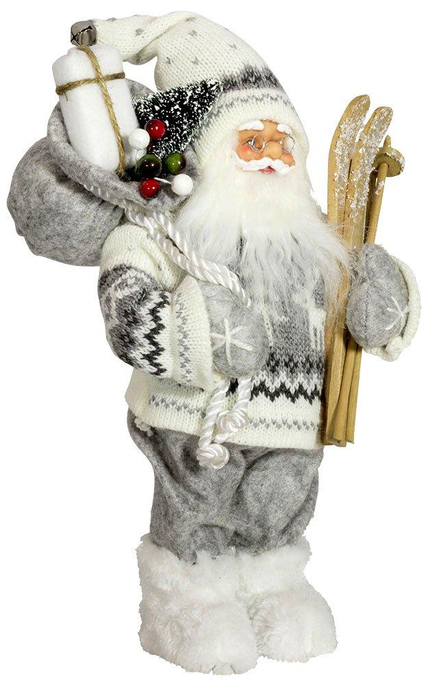 Promoción por tiempo limitado Lote 3 - Estatuilla de Santa Claus `Aiko` 30cm - Calidad COOLMINIPRIX