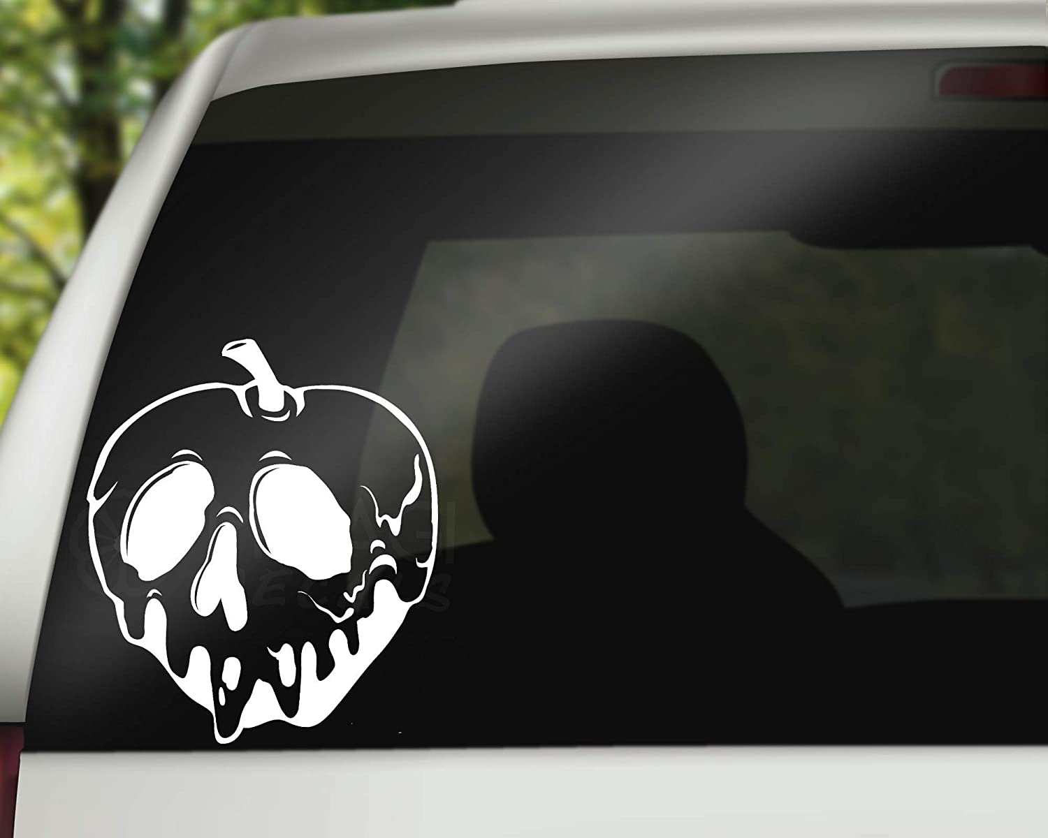 Poison Apple Decal, Decal For Car, Wall or Laptop, Gift