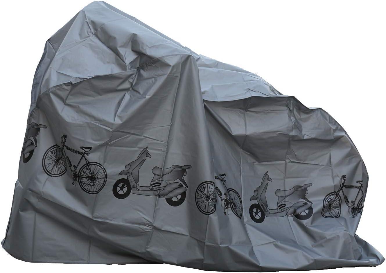 Universal Waterproof Nylon Bicycle Cycle Bike Cover Outdoor Rain Dust Protector
