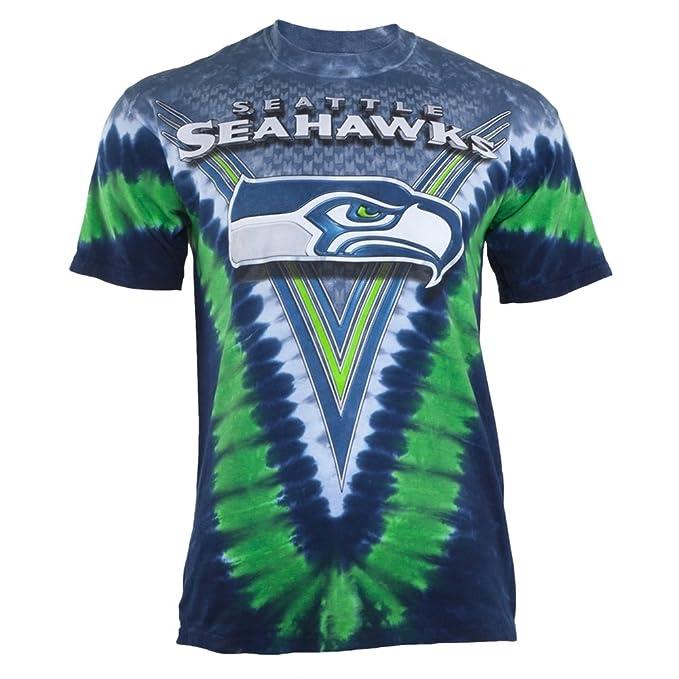 42e31f78 Seattle Seahawks Logo V Tie Dye T-shirt